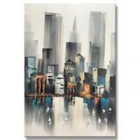 Wall Art Decor Abstract Canvas Knife Oil Painting For Kids House Manufactures