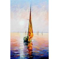 Modern Reproduction High Quality Ship OilPainting For Decor Manufactures