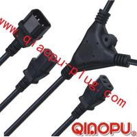 one to Two connectors,power cord,power cord three-way connector Manufactures