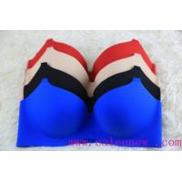2015 popular new design seamless puah up sexy bra Manufactures