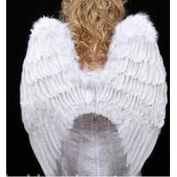 Acrylic and PS product 719093 WHITE FEATHER WING Manufactures