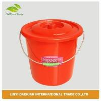 Durable plastic bucket with lid Manufactures