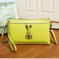 2015 Spring summer style wholesale fashion printed real leather women's clutch bags made in china Manufactures
