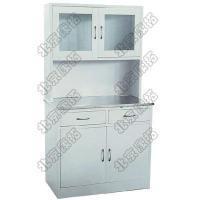 Stainless Steel Cupboard with Working Table XTJ-01  Size:900*240/410*1750mm Manufactures