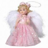China 6.5 Porcelain Heaven's Angel Toy Doll for Gifts, Decoration Purposes on sale