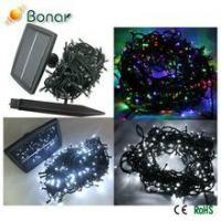 300 400 500 LED Hot Selling Outdoor Decoration LED Solar Christmas Lights Manufactures