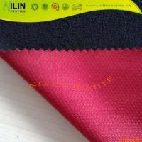 Mesh bonded fleece Breathable softshell jackets fabric Manufactures