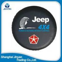 OEM China 4x4 car accessories 15 inches tire cover /spare tire cover/steel spare tire cover Manufactures