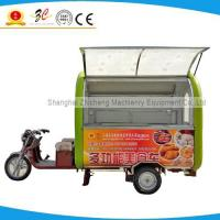 China supply Cheap onion ring vending mobile food van/tricycle for sale Manufactures