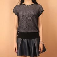 Every Bits Of Bit Pattern Pullover Sweater(WA100) Manufactures