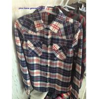 Lady flannel shirts checked/plaids flannel shirts for woman Manufactures