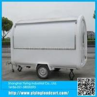 China shanghai YiYing best selling YY-FR220B fiberglass mobile snack coffee cart for sale on sale