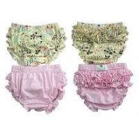 Fashion style floral bloomers high quality toddler girls bloomers high quality ruffle bloomers Manufactures