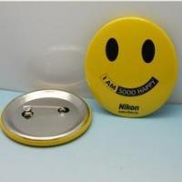 Smile tin badge for promotion Manufactures