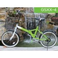 2015 new products 26 inch iron green folding bike with 6S for sale Manufactures