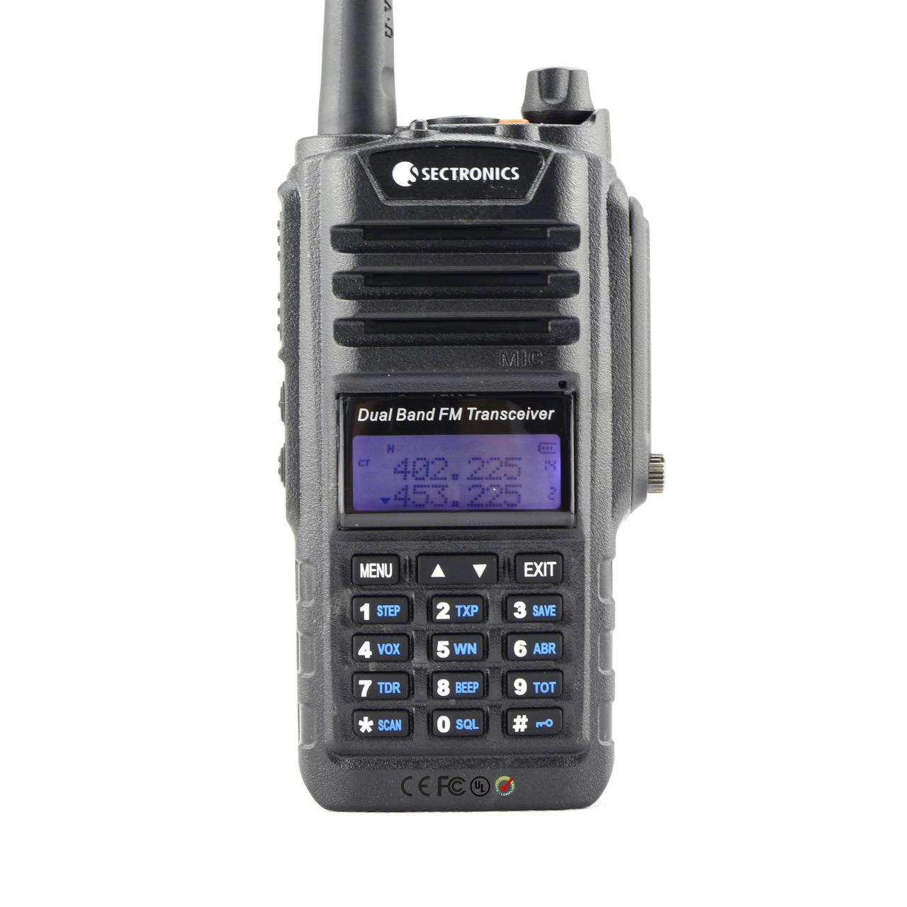 FS5188 Waterproof Two Way Radio With Keyboard Manufactures