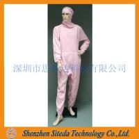 STD Anti-static crotch Zip Hooded Jumpsuit Welcome to order