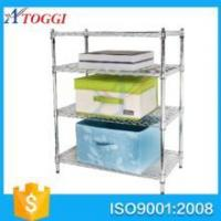 good storage anti rust easy installation bathroom wire shelving Manufactures