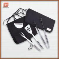 BBQ TOOLS 3pcs stainless steel bbq set with cloth bag packing