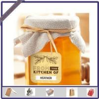 New Design Adhesive Printed Honey Sticker Label for Glass Bottle
