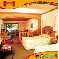 OEM outsourcing Standard Room solid wood mirrored model hotel furniture bedroom Manufactures