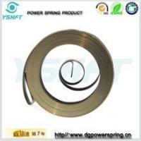 electrical equipment flat wire spiral torsion springs for rewinder Manufactures