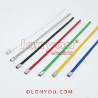PVC Coated Ball-Lock Cable Ties Manufactures