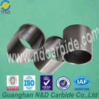 Buy cheap Different size grade finished hard alloy tungsten cemented carbide seal ring from wholesalers