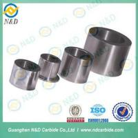 Tungsten Carbide Sleeve better performance than silicon carbide sleeve Manufactures