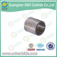 Stock cemented carbide bushing, tungsten carbide shaft sleeve Manufactures