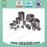 Tungsten Carbide Cylindrical Bushing for Mechanical Parts Manufactures