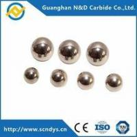 chinese manufacturer custom sample tungsten carbide bearing balls Manufactures