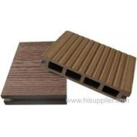 WPC hollow decking 140*25mm wood plastic composite decking Manufactures