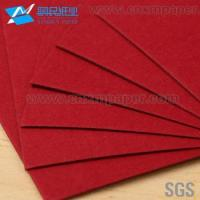 High Quality red colour paper/hard paper board