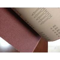 the super quality emery cloth roll for making wide belt KX167 abrasive belt type sanding belt Manufactures