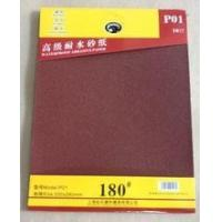 suit package red color aluminium oxide sandpaper for automobile/metal Manufactures
