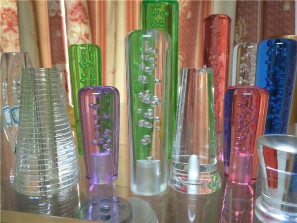Quality best price decorative acrylic bubble rod/colored acrylic rods with bubble wholesale for sale