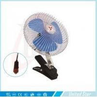 "HAVE STOCK 6"" car Clip fan CE/ROHS certification good selling solar mini clip fan"