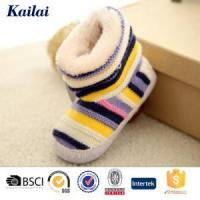Baby Shoes Cashmere Bowknot Child Shoes Manufactures