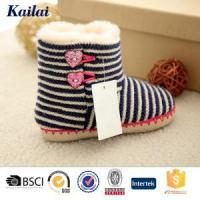 Baby Shoes Cashmere Pom Pom Child Shoes Manufactures