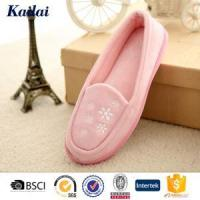 Dance Shoes Suede Fabric Embroidery Dance Shoes Manufactures