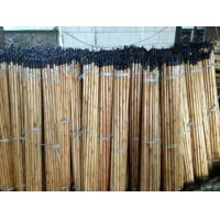 Black cap varnish wooden broom handle Manufactures