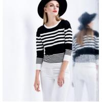 tight stripe short sweater Manufactures