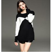 loose pullover knitted sweater for ladies Manufactures