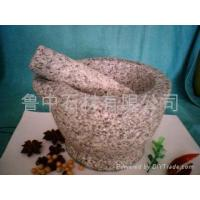 China natural stone mortar and pestle on sale