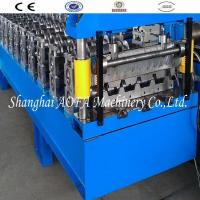 Guide Pillar Trapezoidal Roof Panel Roll Forming Machine