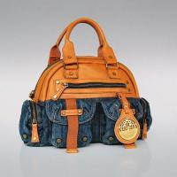 T002-2014 Popular Ladies Handbags, Denim Handbags for ladies