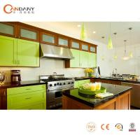 modern custom made health green kitchen cabinet Manufactures