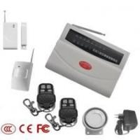 8 zones wireless PSTN alarm with keyboard Manufactures