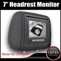 7 inch car headrest TV monitors / car backseat monitors for back seat entertainment system CH7018H Manufactures